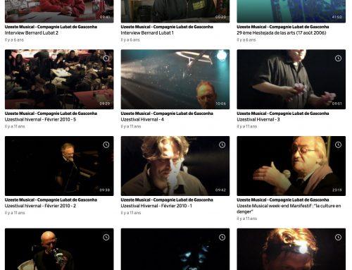 Archives vidéos 2006/2010 (dailymotion)